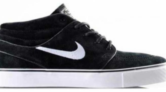 brand new 844f8 781fe Nike SB Zoom Stefan Janoski Mid - Black White - New Images