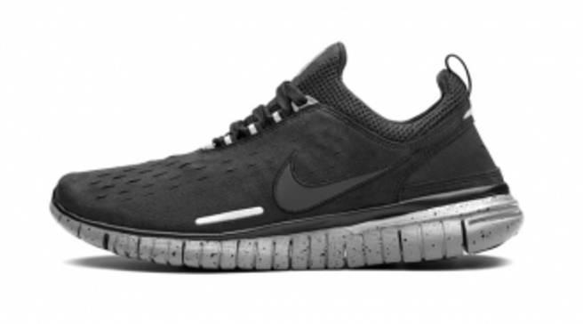 d9d46576d8e Nike Free Run 2 SP Black Black-Cement Grey
