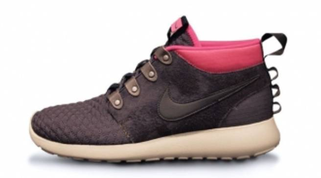 size 40 a5697 6d2bf Nike Roshe Run Sneakerboot - Newsprint Smoke