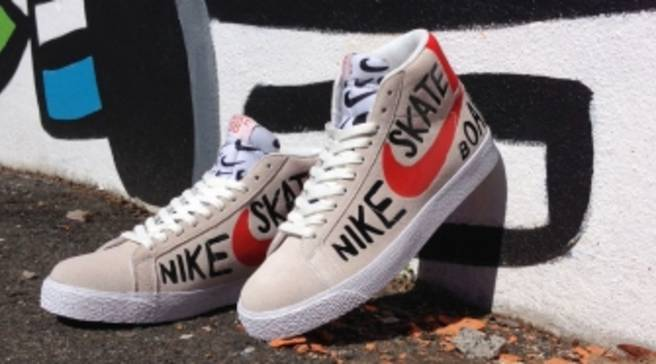 finest selection 88bed 842c0 Nike SB Let an Artist Draw All Over the Blazer