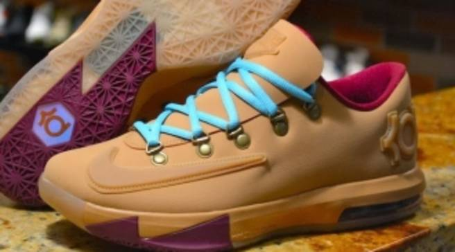 90ebe84be987 Nike KD VI EXT Gum QS Gum Light Brown Gum Light Brown-Raspberry Red ...