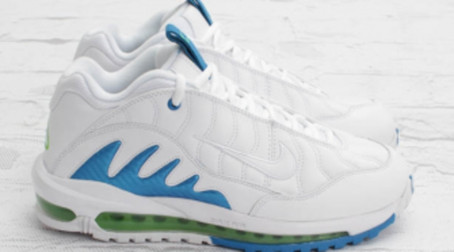 276e3eeee9 Nike Total Griffey Max 99 - White/Neptune Blue-Action Green