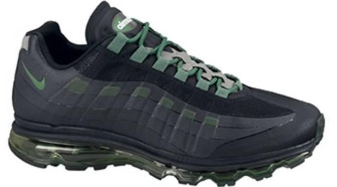 save off 3da95 7b83e Nike Air Max 95 BB - Black/Pine Green