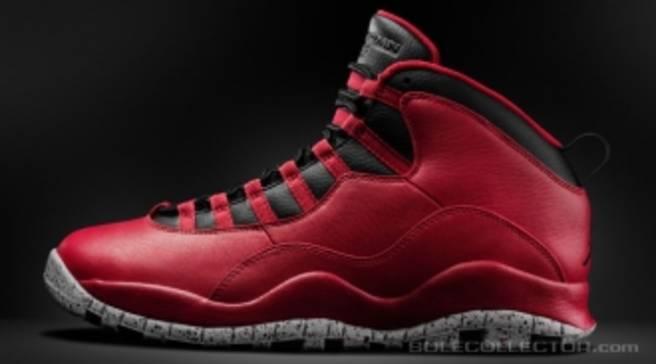 finest selection 7a5b2 96b19 Air Jordan 10 Retro Gym Red/Black-Wolf Grey | Jordan | Sole ...