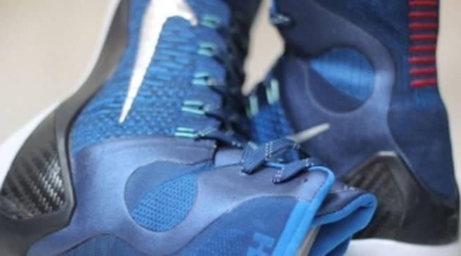 14860669d151 Nike Kobe 9 Elite Brave Blue Military Blue-Dark Obsidian-Metallic ...
