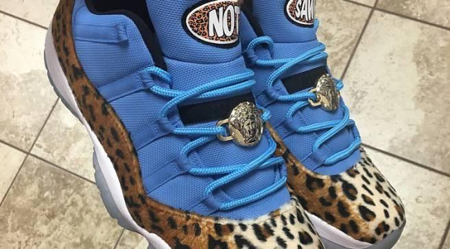 huge discount 54724 f7a21 WWE s Enzo Amore Has the Craziest Custom Air Jordan 11