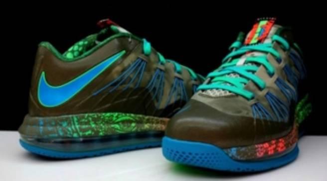 buy popular 90096 6e5bc Nike LeBron X Low - Reptile