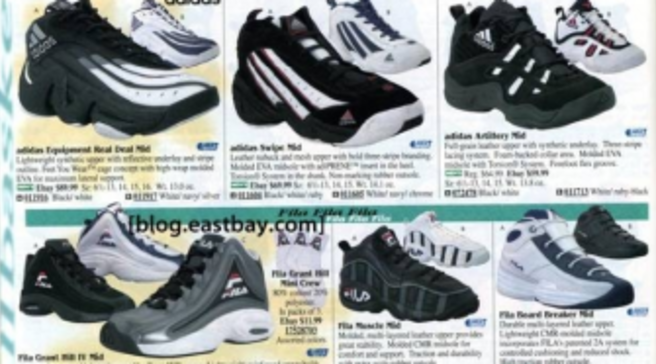 471648e8c0b Eastbay Memory Lane  1998 Basketball Shoes