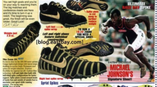 c309b9651 Eastbay Memory Lane  Michael Johnson 1998