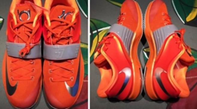 meet 77a79 b210d Durant s Pal Reveals a New Nike KD 7 PE