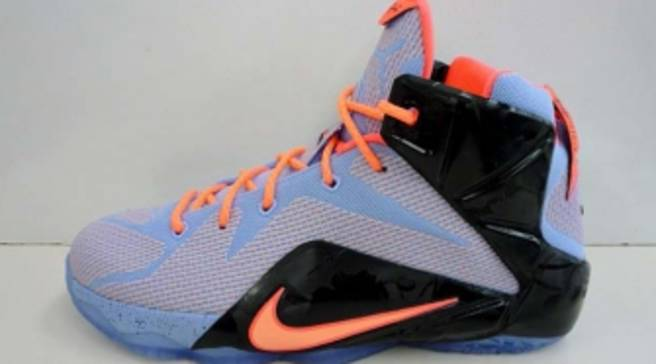 e4171b951846 Here s a First Look at the  Easter  Nike LeBron 12 GS