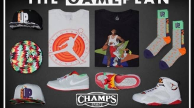 new product 33fde ae24f The Game Plan by Champs Sports Presents the Jordan Hare Collection