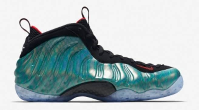 300887f73c984 Nike Air Foamposite One Premium Dark Emerald Challenge Red-Black ...