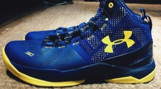 b37d07793603 Of Course There s a  Dub Nation  Under Armour Curry 2