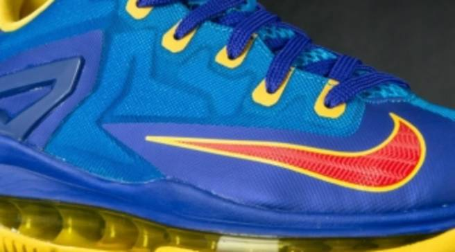 a02db3274b39d Nike LeBron 11 Low GS  Superman  Available at Eastbay