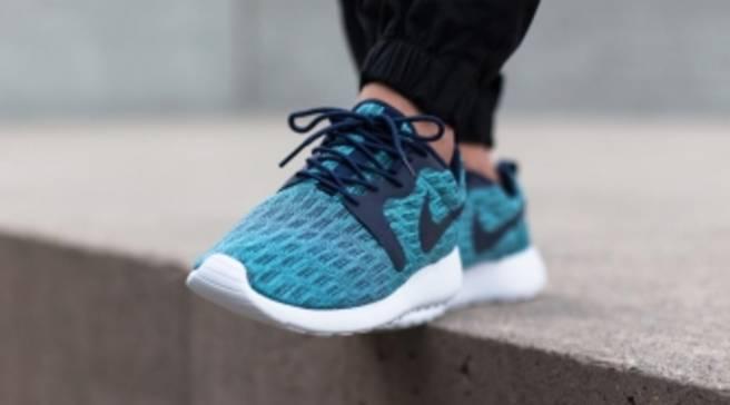 db04f9b596b6 Blue Tones Grace the Newest Nike Roshe Run Jacquard