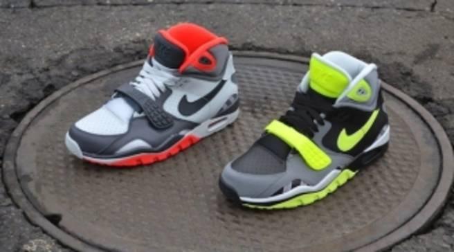 formar Café Fantástico  Nike Air Trainer SC II Black/Volt-Cool Grey-Pure Platinum   Nike   Sole  Collector