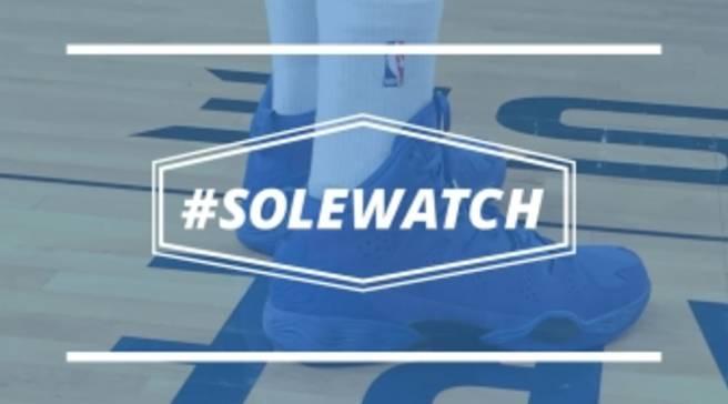 d186841f0269  SoleWatch  Carmelo Anthony Wears  Blue Suede  Jordan Melo M10
