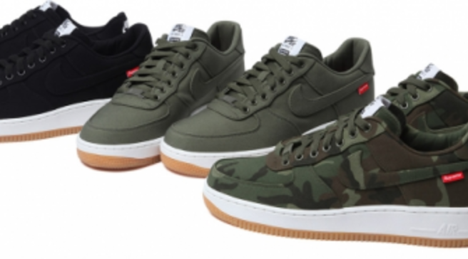 hot sale online 5900d 0afcf Release Date    Supreme x Nike Air Force 1 Low