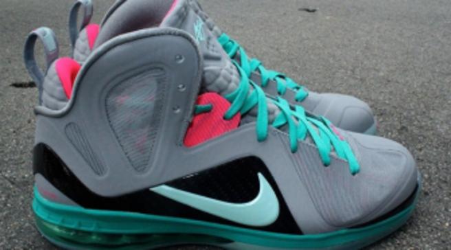 low priced da3fc 6d857 Nike LeBron 9 P.S. Elite - Miami Vice