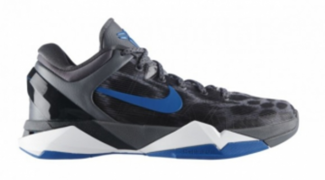 Nike Zoom Kobe VII - Cheetah - Wolf Grey Photo Blue a53708bd0
