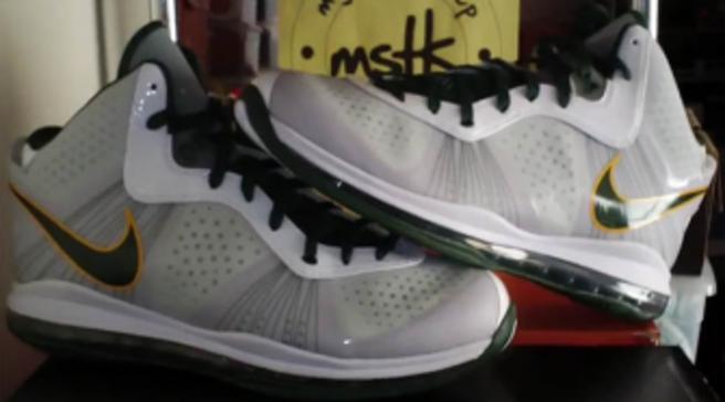Nike LeBron 8 V 2 - Swin Cash PE Review by MySoleToKeep bf6890e13977