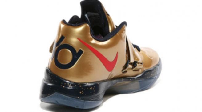 new arrival 00717 e9554 Nike Zoom KD IV - Gold Medal