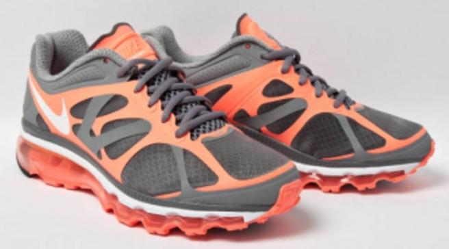 Nike Air Max 2012 AnthraciteBlack Total Orange | Sole