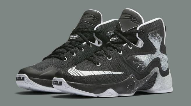 reputable site d439a dcab2 ... 2016 Nike Mens Basketball Sneakers Lebron 13 Classic Grey Blue White  Black,cheap Atlanta,  New Nike LeBron 13 Celebrates King James as a  Real-Life ...
