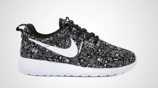 9cc14c6732bf3 Nike Draws All Over the Roshe Run