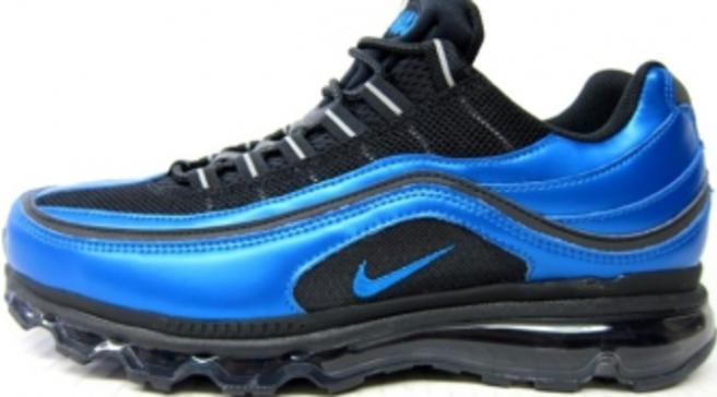 d0e67a1fd2683f Nike Air Max 24-7 - Black Blue Spark-White