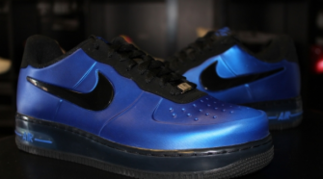 113e15f6bc299 Nike Air Force 1 Foamposite Pro Low - Game Royal Black