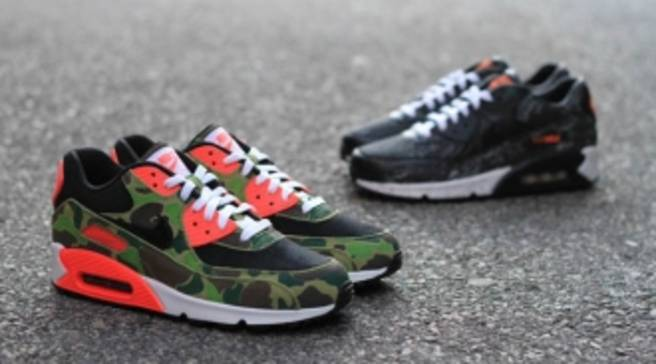 buy online 90213 e1295 atmos x Nike Air Max 90  Premium Camo Pack  - Available at Bodega