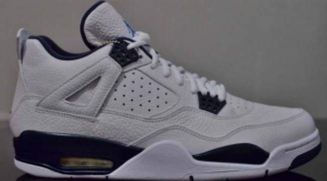 sale retailer 354d2 d7f42 An Early Look at the Remastered Air Jordan 4 Retro  Columbia