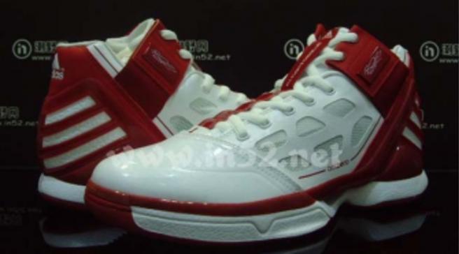 quality design 18943 b1e14 adidas adiZero Rose 2 TB - White Red