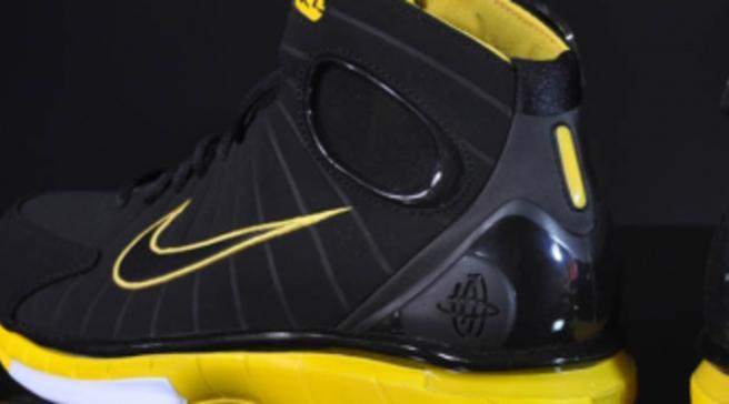 7108fb1d2bfc Nike Air Zoom Huarache 2K4 - Black Black-Varsity Maize