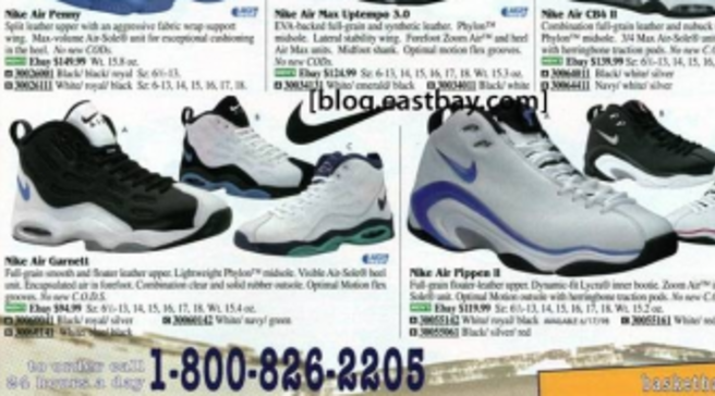 1979b838fc4 Eastbay Memory Lane  Nike Basketball May 1998