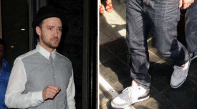 the latest f9063 343eb Justin Timberlake | Sole Collector