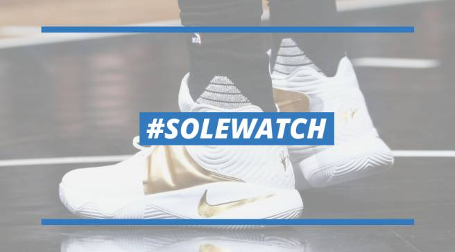 df7bef637ba  SoleWatch  Kyrie Irving s New Sneakers Are As Good As Gold