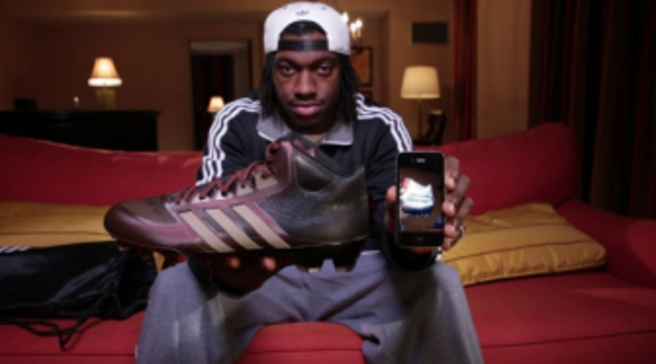 Robert Griffin III RG3 Previews adidas crazyquick Cleats 1c349aa2c