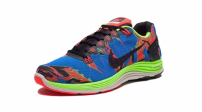 e49f99f84a04 Nike LunarGlide+ 5 EXT - Blue Hero   Atomic Red   Flash Lime