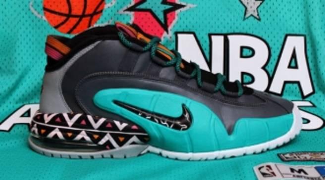 328873d9da1 Nike Air Penny 1  1996 All-Star Game  by Dank Customs