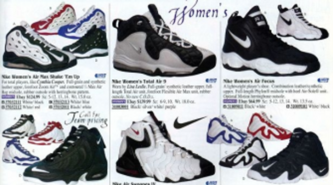 68cadb3d23cf61 Eastbay Memory Lane    Women s Basketball 1998