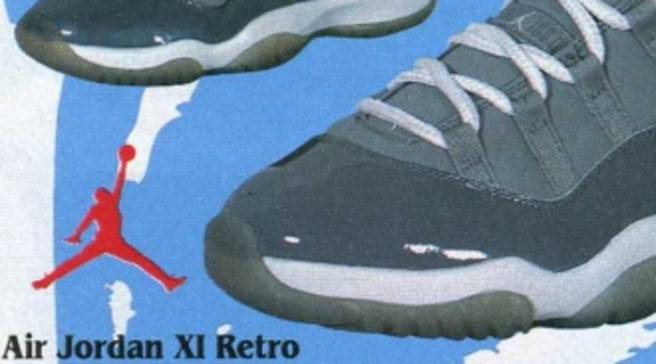 83428d207f0 Eastbay Memory Lane    Air Jordan 11 Retro  Cool Grey  March 2001
