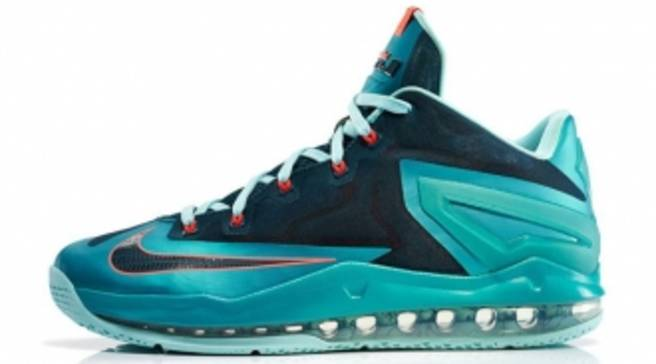 bbb77018622 An Official Look at the  Turbo Green  Nike LeBron 11 Low