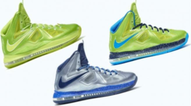 Nike LeBron X iD - New Samples 538aee268a
