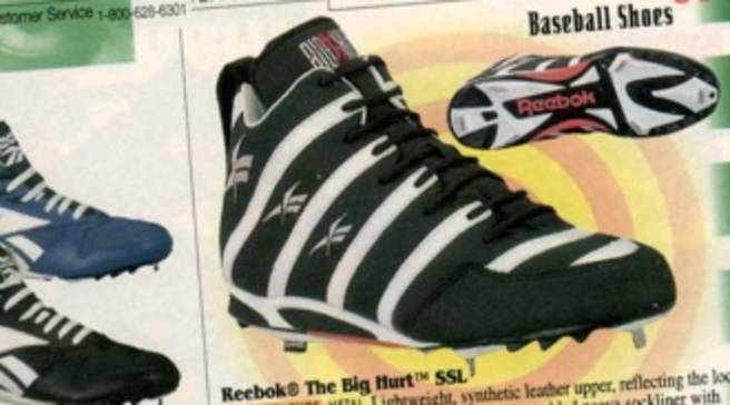 72d291a1e5be Eastbay Memory Lane    Reebok Big Hurt Spring 1996