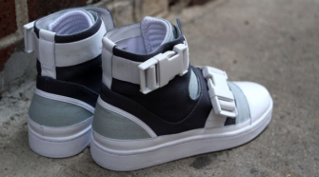 bfc2bce6e582 adidas SLVR High Top Buckle - Castlerock Sky Gray