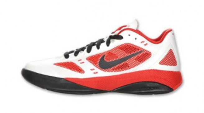 Nike Zoom Hyperfuse 2011 Low - White Sport Red-Black Available fc56d14632