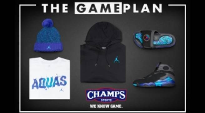 separation shoes e9003 82310 The Game Plan by Champs Sports Presents the Jordan  Aqua  Collection